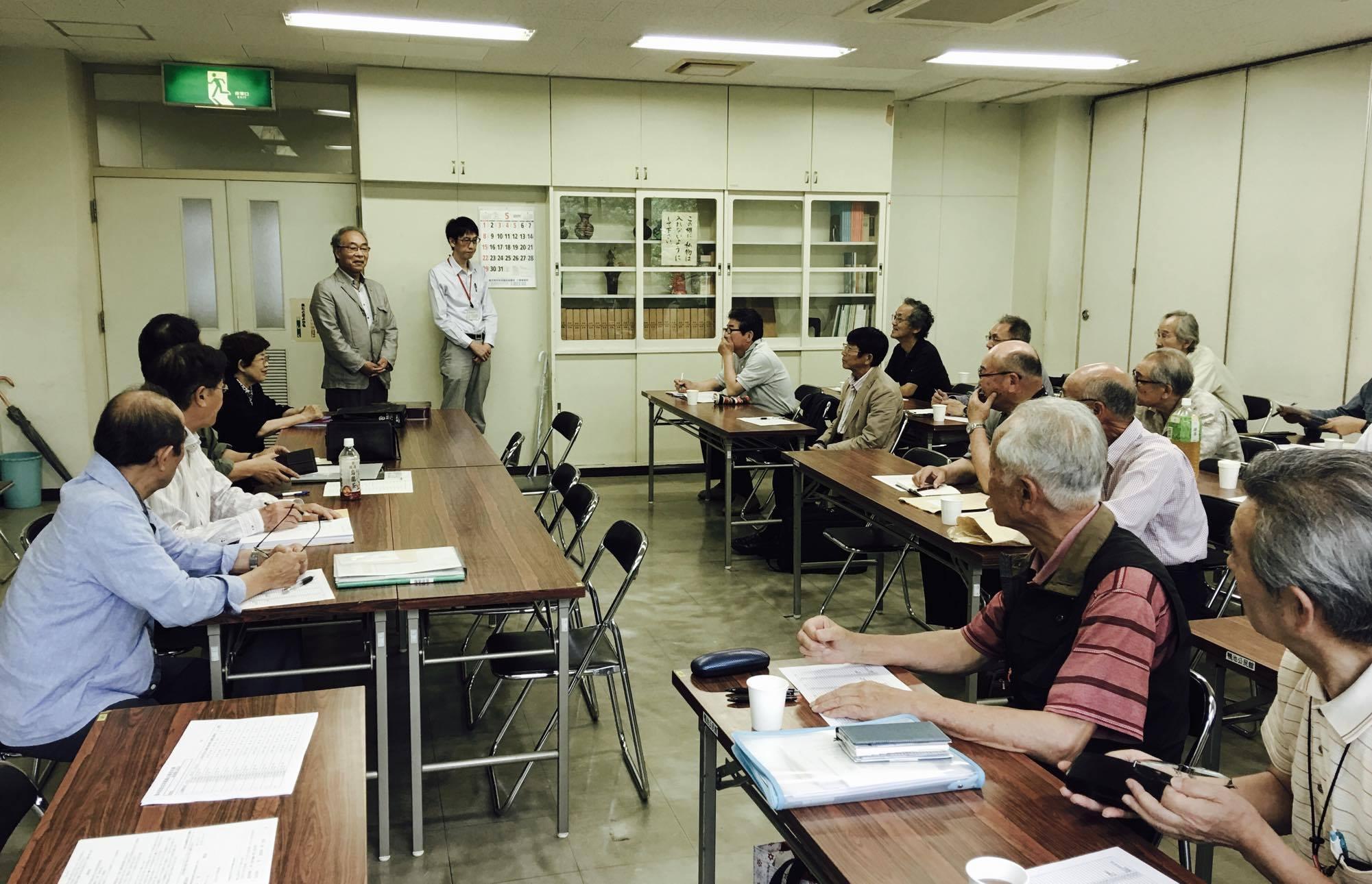 県写真協会の第一回運営委員会が開催されました。